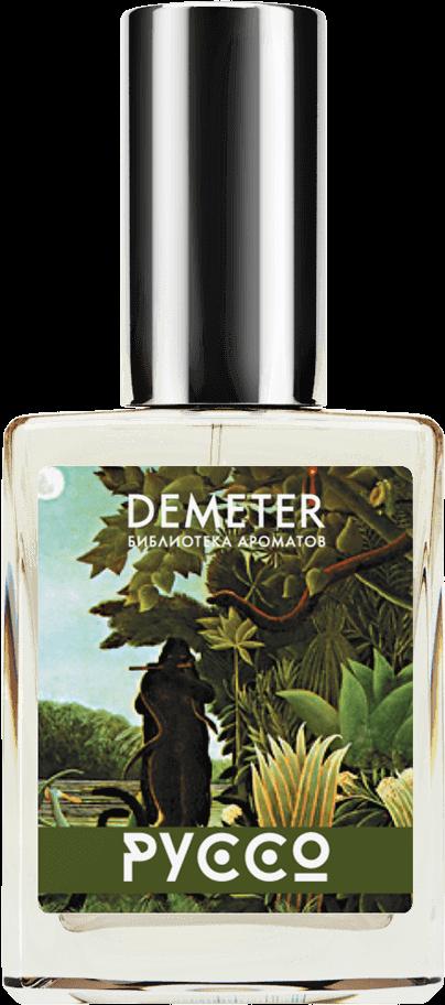 Demeter Fragrance Library Духи-спрей «А. Руссо — «Заклинательница змей» (1907 г.)» (Henri Rousseau. The Snake Charmer) 30мл