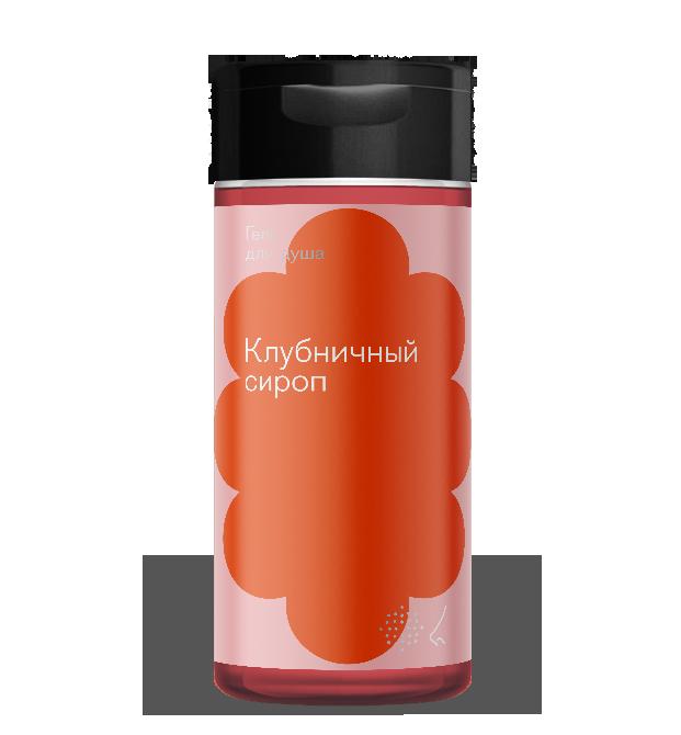 Купить Библиотека ароматов Гель для душа «Клубничный сироп» (Strawberry Syrup) 150мл, Strawberry Syrup 150мл