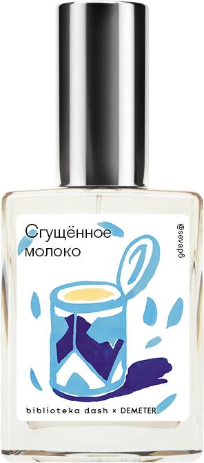 Купить Demeter Fragrance Library Авторский одеколон «Сгущённое молоко» (Condensed Milk) 30мл, Condensed Milk 30мл