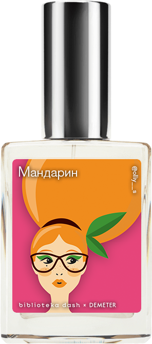 Demeter Fragrance Library Авторский одеколон «Мандарин» (Tangerine) 30мл фото