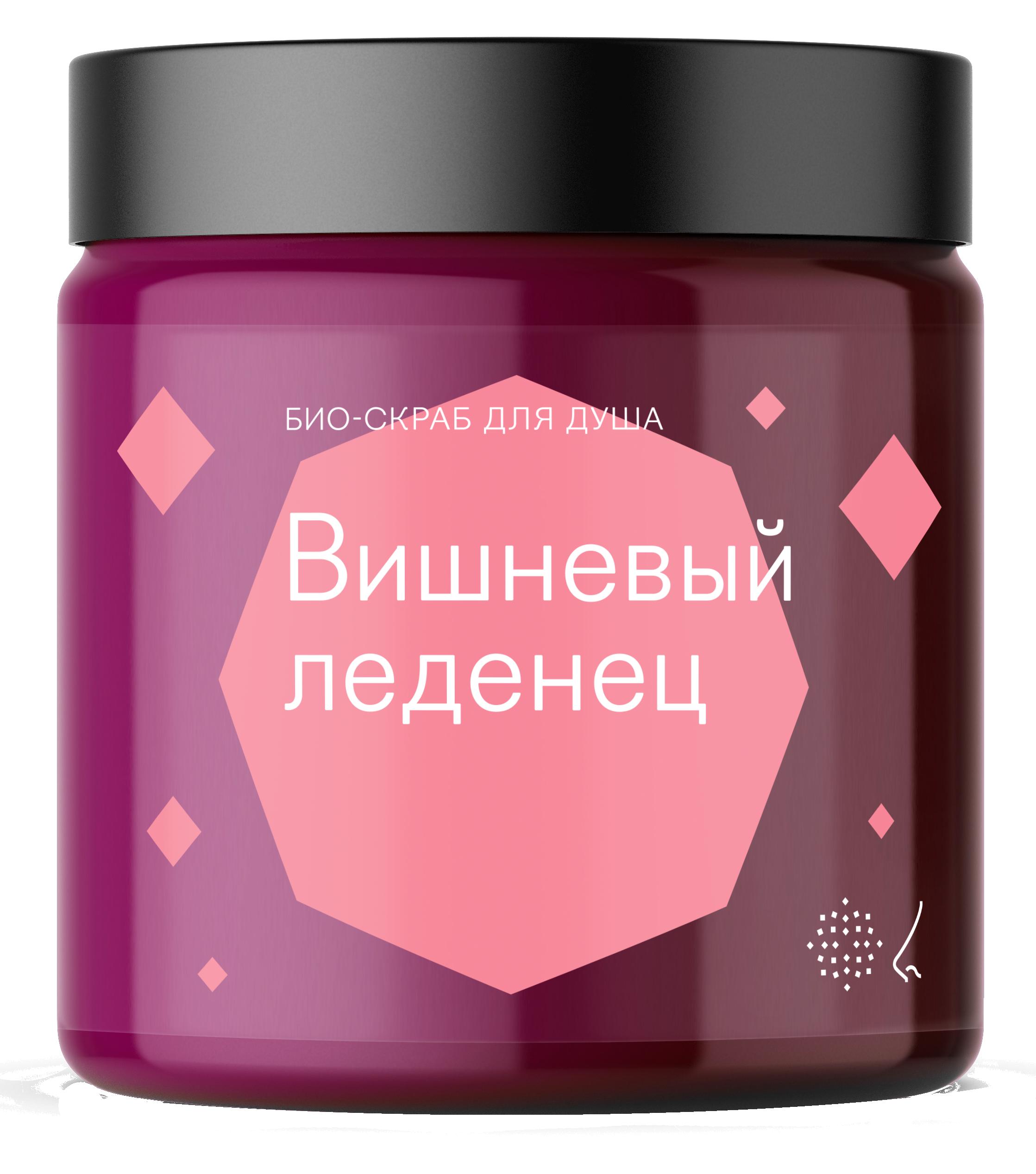 Библиотека ароматов Скраб для тела «Вишневый леденец» (Cherry Candy) 125мл фото