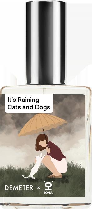 Купить Demeter Fragrance Library Авторский одеколон «Котик боится грозы» (It's raining cats and dogs) 30мл, It's raining cats and dogs 30мл