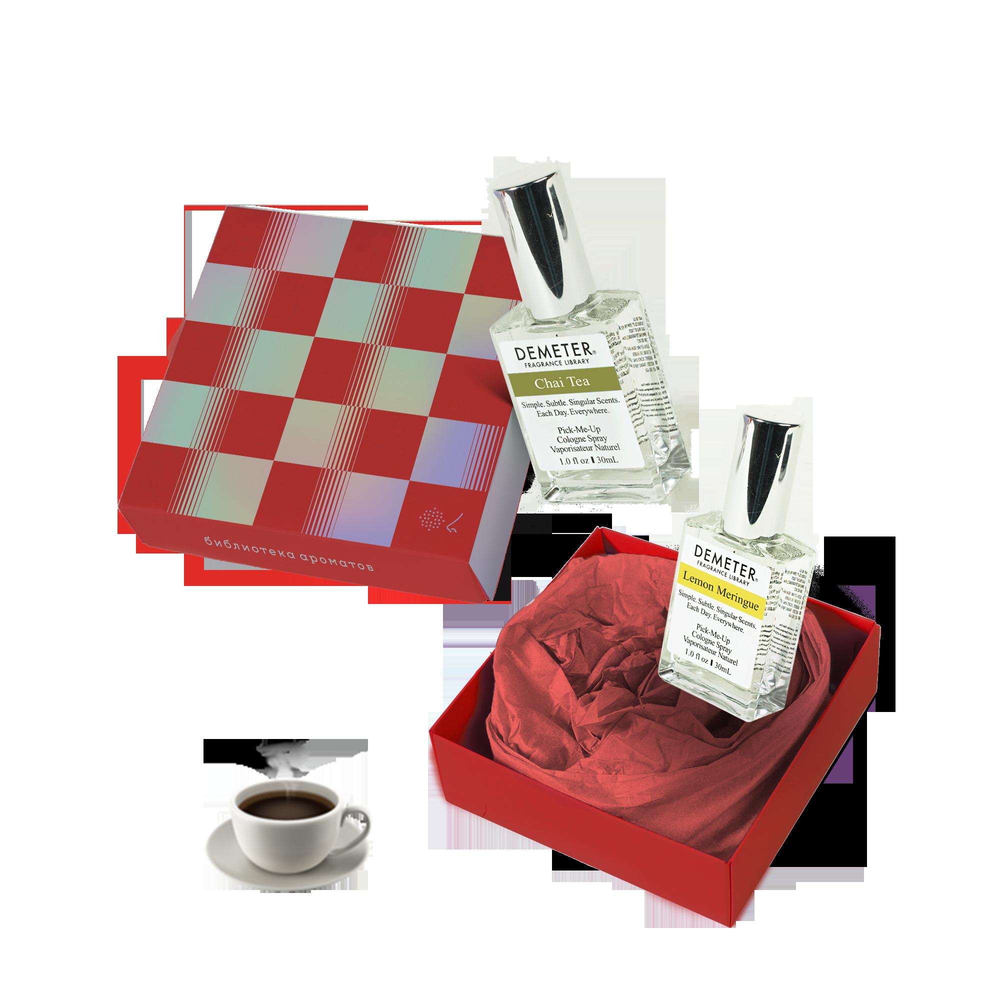Подарочный набор «Для бесед на кухне» (Chai Tea + Lemon Meringue) 1гр фото